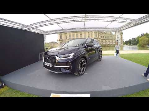 DS7 CROSSBACK PRESIDENT MACRON 2017 CHANTILLY ARTS ELEGANCE