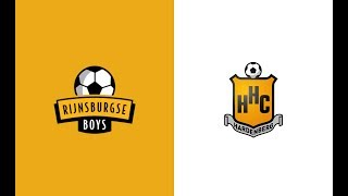 HIGHLIGHTS | Rijnsburgse Boys - HHC Hardenberg