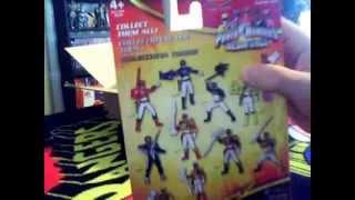 my power rangers megaforce toys ultra metallic force figures set limited edition
