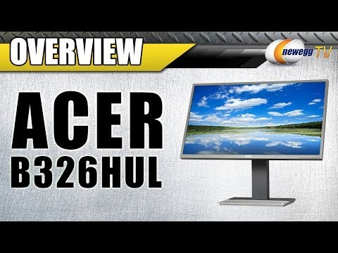 "Acer B326HUL 32"" LCD Monitor Overview - Newegg TV"