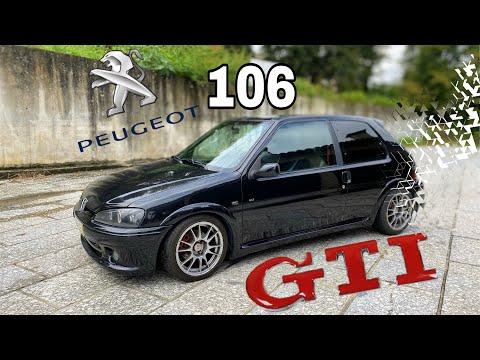 PEUGEOT 106 GTI 120cv MK2 De 1998!CARRO DO AÇO