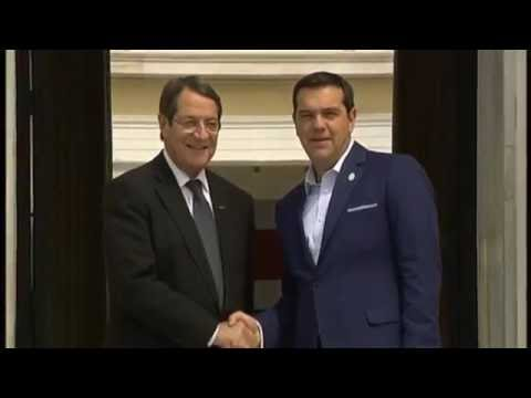 European Union's southern Mediterranean Leaders meet with Greek Prime Minister Alexis Tsipras