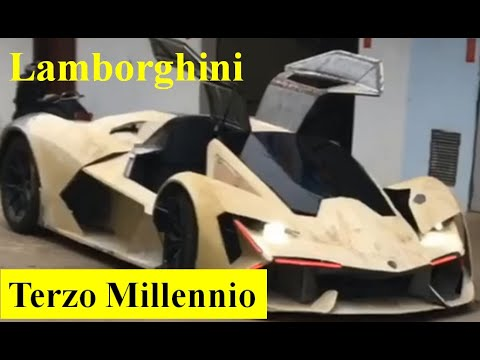 Download (P2) Lamborghini Terzo Millennio Replica   Surface Treatment.