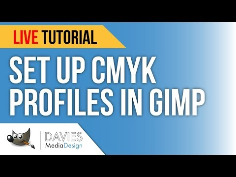How to Set Up a CMYK Color Profile and Soft Proofing in GIMP