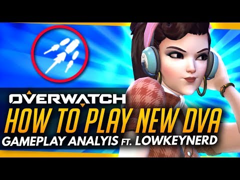 Overwatch | How To DOMINATE With New Dva! - T500 Gameplay Coaching
