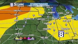 StormTrack 8 Morning Forecast July 17, 2015
