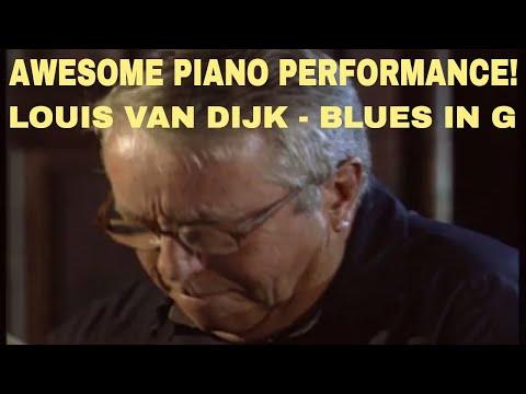 Louis van Dijk plays 'Blues in G'