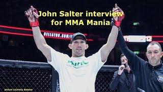 John Salter Interview Before Rafael Lovato Jr. at Bellator 198