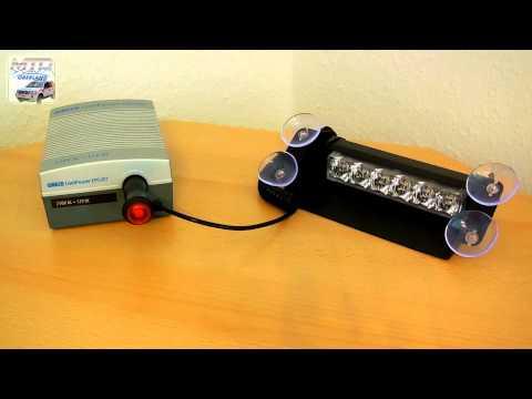 Warnleuchtencheck - Axixtech LED InCar Frontblitzer Dashlight [Vorstellung/Warnwirkung]