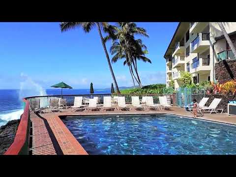 Amazing Kauai Direct Oceanfront Luxury Vacation Rental at the Poipu Shores Resort