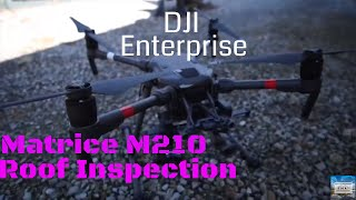 DJI - Zenmuse XT Thermal Camera Roof Inspection and Matrice 210