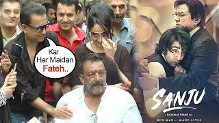 Sanjay Dutt's Real Life Friend Kamlesh Supports Sanju As He CRIES Missing Father After Jail Release