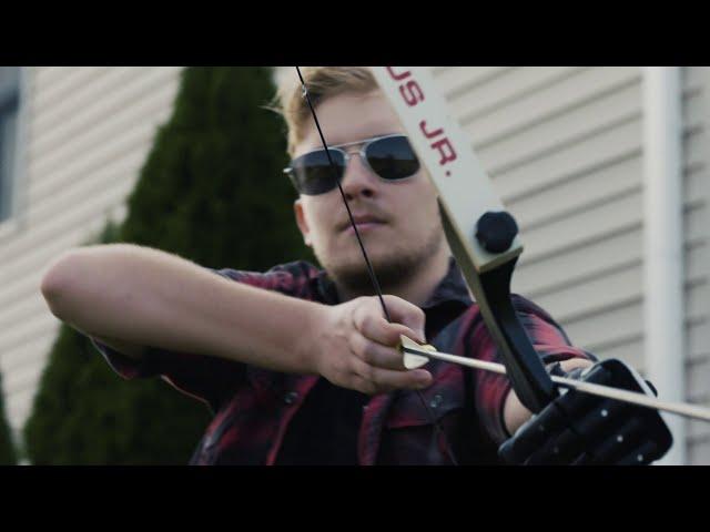 Hero Arm user Joe Dubbs riding a onewheel into the future!