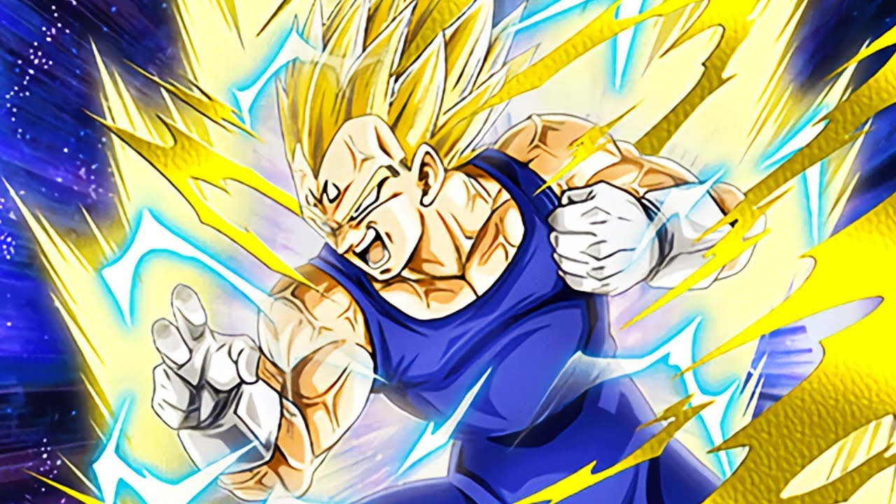 F2p Cards Are Getting So Op Maxed Phy Majin Vegeta Dragon Ball Z