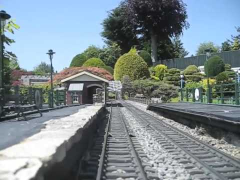 Garden railway 10 scale miles MASSIVE Drivers Eye View of