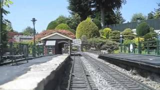 Garden railway: 10 scale miles MASSIVE: Drivers Eye View of Bekonscot Model Railway