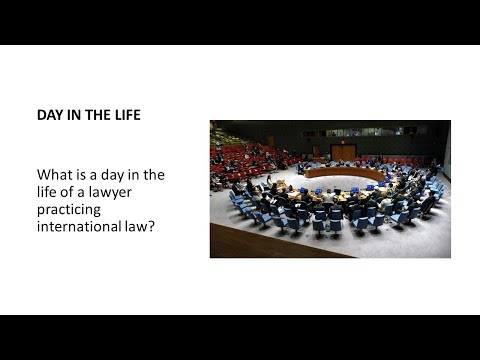 Career Choice Series: International Law