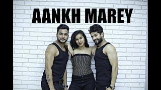 Aankh Marey | SIMMBA | Dance Choreography | Nidhi Kumar ft. Anup & Sarthak