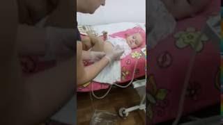 Соля на процедуре диализа