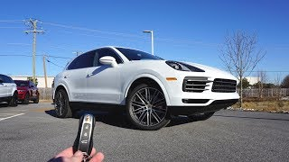 2019 Porsche Cayenne S: Start Up, Exhaust, Test Drive and Review