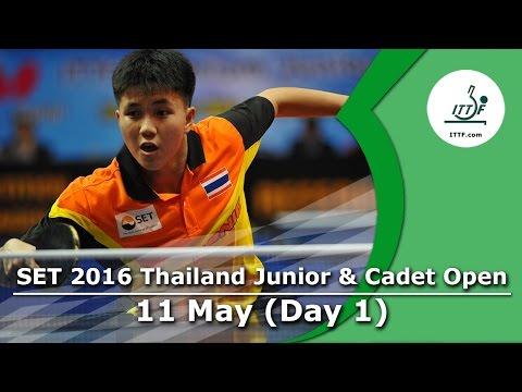 SET 2016 Thailand Junior & Cadet Open - Day 1