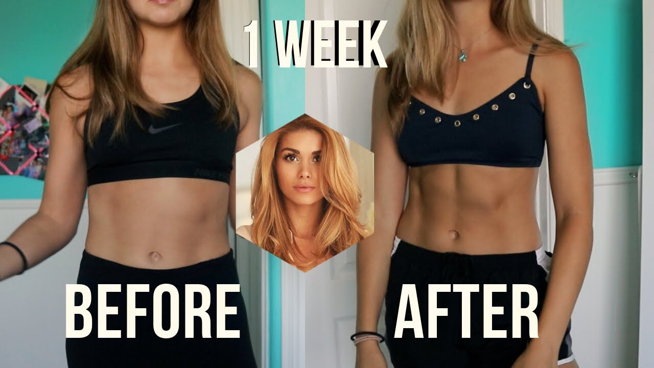 abs in 1 week?!   trying Pamela Rf sixpack abs workout