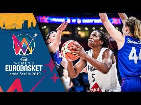 France v Great Britain - Highlights - Semi-Final - FIBA Women's EuroBasket 2019