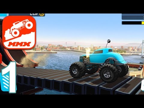 MMX HILL DASH Gameplay Walkthrough Part 1 - City Stages 1 2 3 (iOS Android)