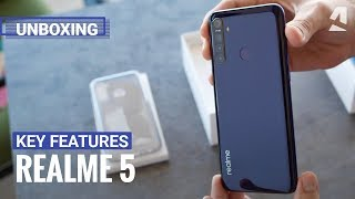 Realme 5 unboxing and key features