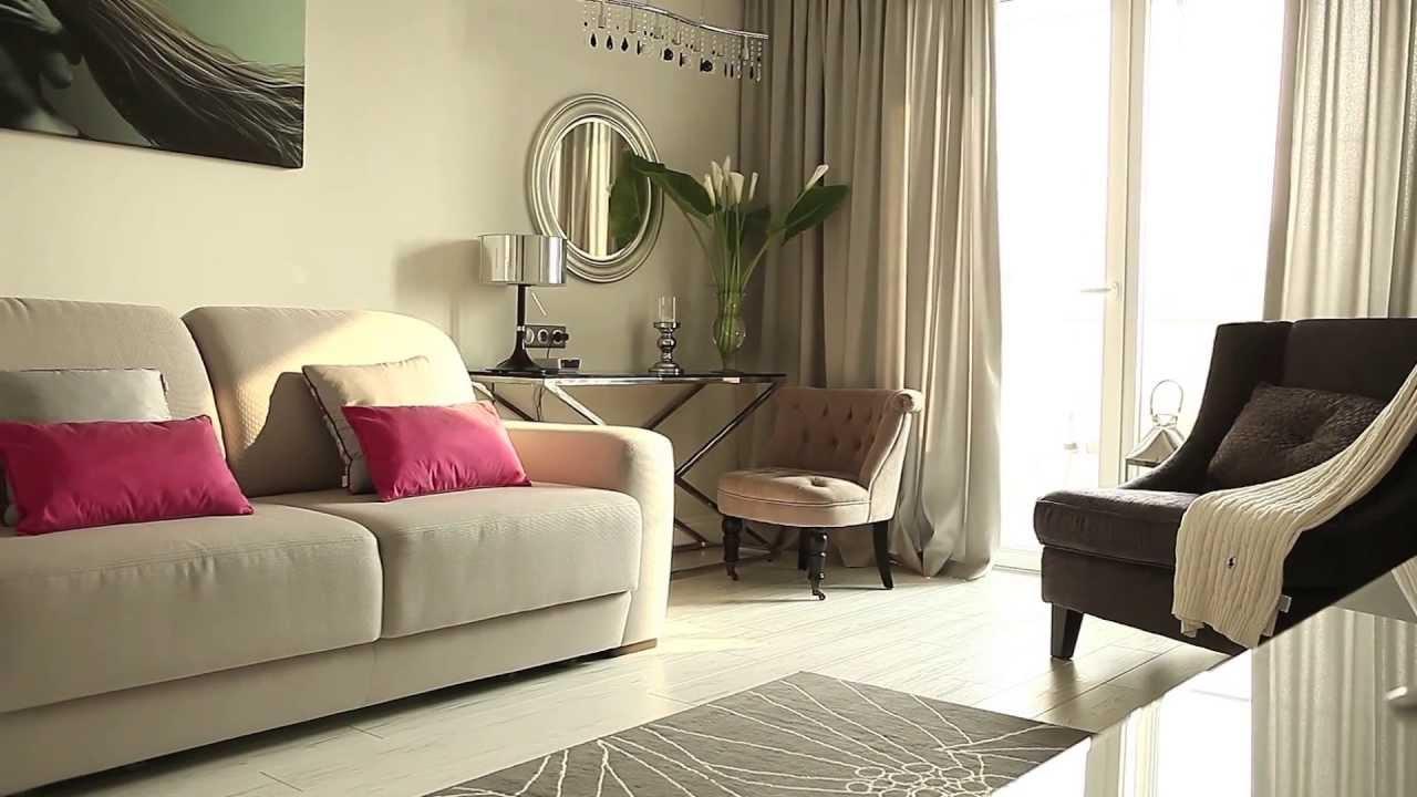 Дизайн интерьера однокомнатной квартиры - YouTube