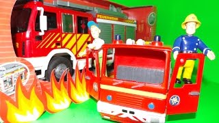 видео Пожарный Сэм, пожарная машина Юпитер на д/у