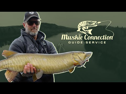 Maine Musky Fishing In October - Muskie Connections - Del Harrington