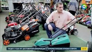 видео Как выбрать электрическую газонокосилку