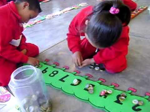 Pensamiento matem tico en preescolar youtube for Actividades para jardin maternal sala de 2