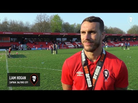 NATIONAL LEAGUE NORTH CHAMPIONS | Reaction from Liam Hogan