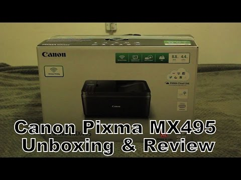 Install Canon Pixma Mx490 Without Cd