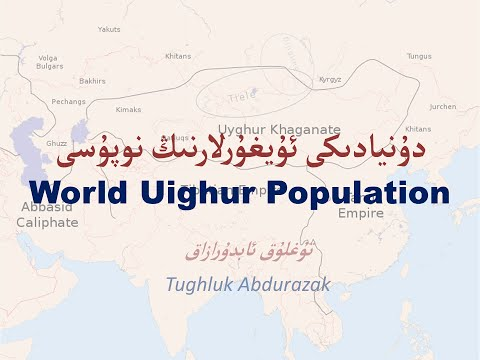 Uighur Population Presentation - Tughluk Abdurazak