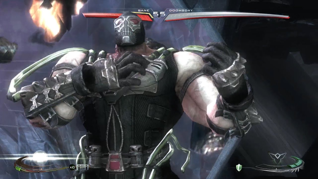 injustice gods among us bane all special moves meter