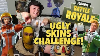 FORTNITE: UGLY SKINS CHALLENGE!