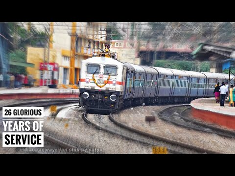 BANGALORE CHENNAI LALBAGH EXPRESS || SPECIAL UPLOAD BIRTHDAY OF TRAIN
