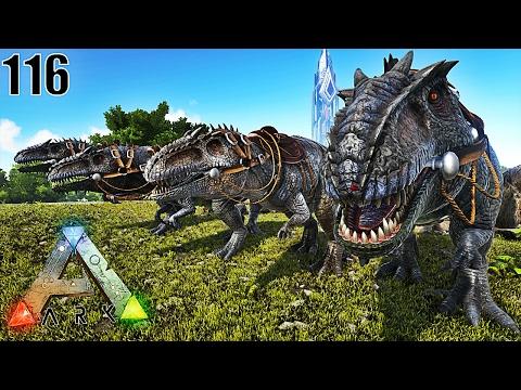 JE CHASSE AVEC MON GROUPE DE GIGANOTOSAURUS ! | ARK: Survival Evolved ! #Ep116