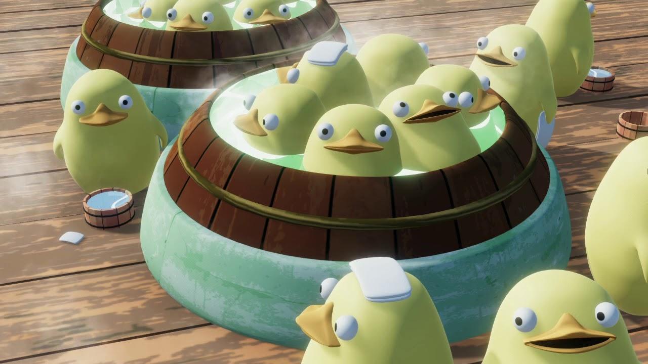 Ducks From Spirited Away Youtube
