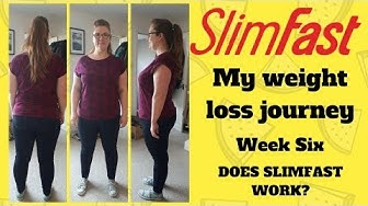 Weight Loss Journal - Week 6 | (DID THE SLIMFAST WORK?) - 2018