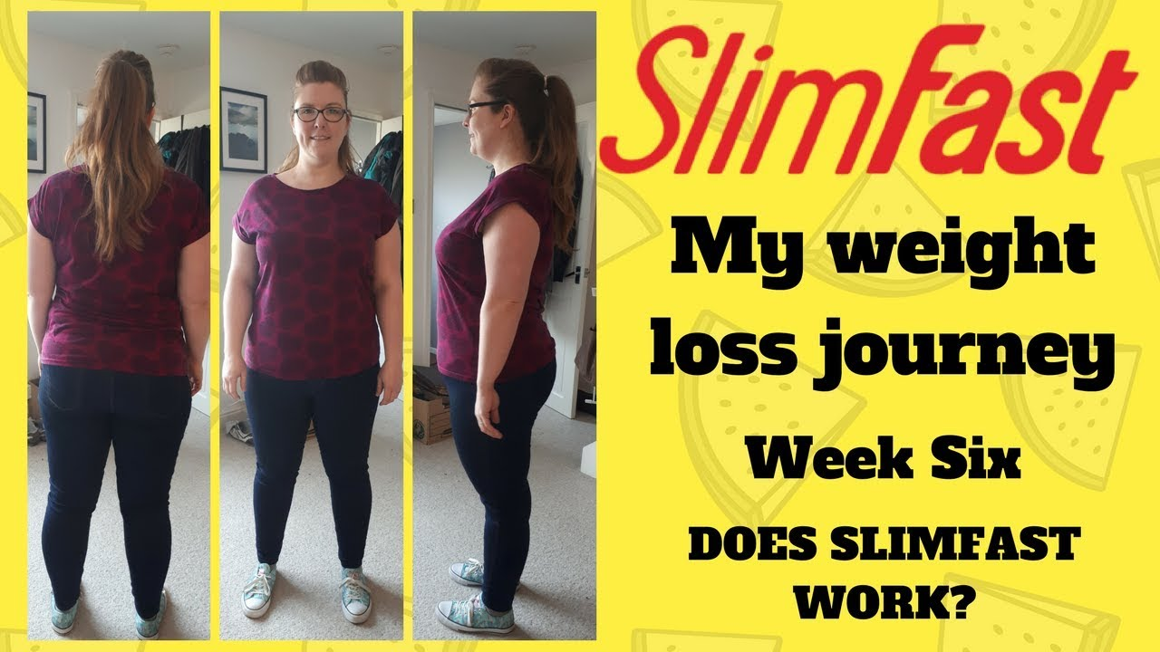 How much weight can i lose slim fast week
