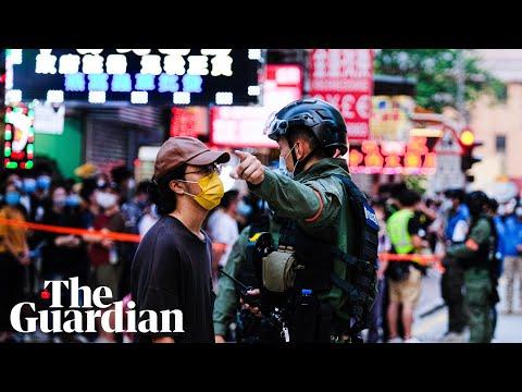 Hong Kong shocked by violent police arrest of 12-year-old girl