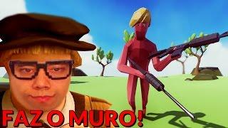 O TRUMP APELÃO - Totally Accurate Battle Simulator ( TABS )