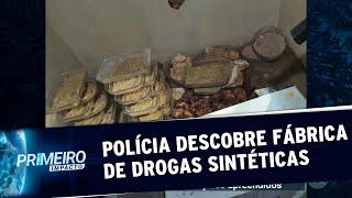 Polícia descobre laboratório clandestino e apreende 20kg de ecstasy | Primeiro Impacto (05/09/19)