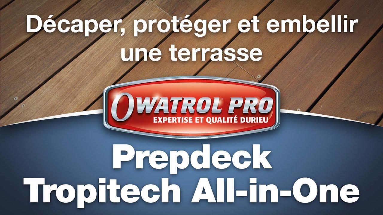 26 FR Owatrol Pro PREPDECK TROPITECH - Décaper, Protéger Et Embellir Une  Terrasse