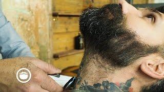 Medium To Short Length Beard Trim Carlos Costa