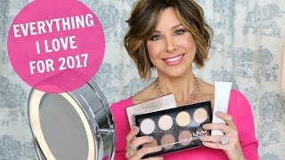 Top 10 Products Rockin' My World in 2017 | Makeup, Hair, Skin Care